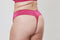 Fan Lace Thong - Bright Pink