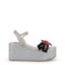Women's Wedge Sandals by Love Moschino - JA16188I07JH