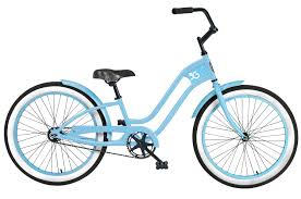 "3G Roxie 24"" 1 Speed Baby Blue with Baby Blue Rims and Fender"