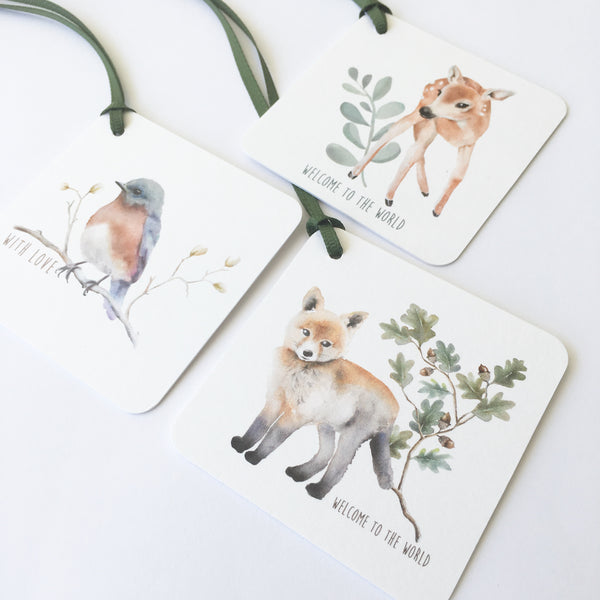 Watercolour Gift Tag