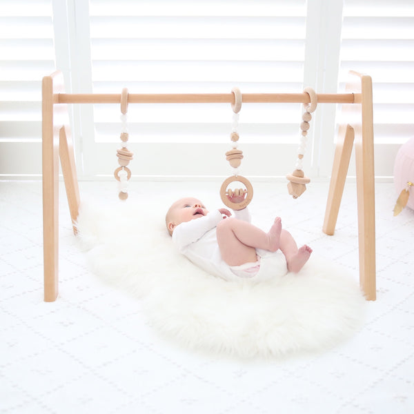 Deluxe Simply Scandi Baby Gym Package