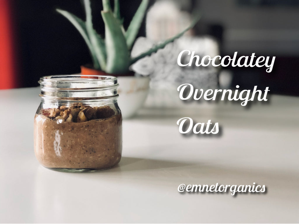 Chocolatey Overnight Oats