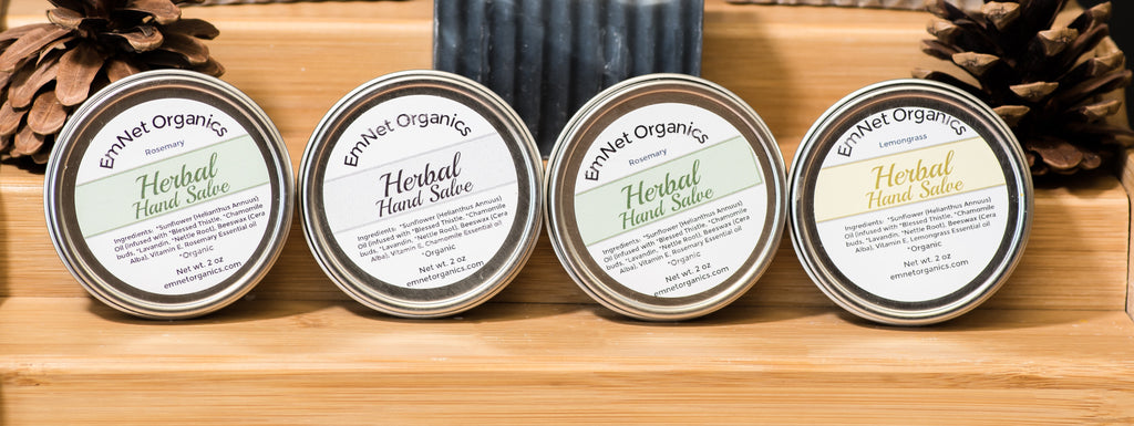 Herbal Hand Salve - Travel size