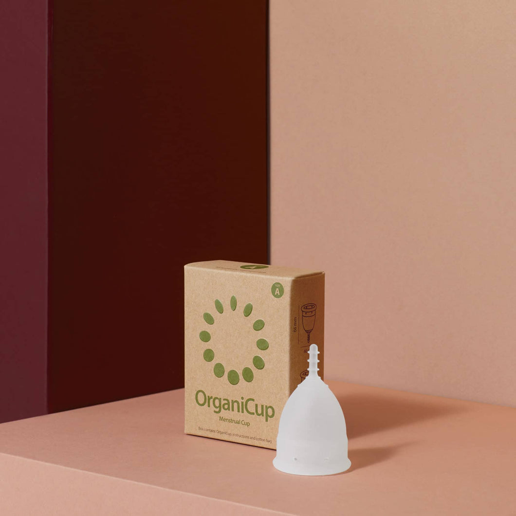 OrganiCup is the award-winning menstrual cup that replaces pads and tampons. Easier, healthier, greener ecofriendly no waste medical silicon comfy clean no smell