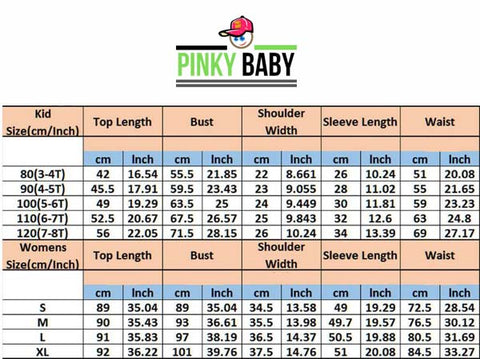 mini dress size chart