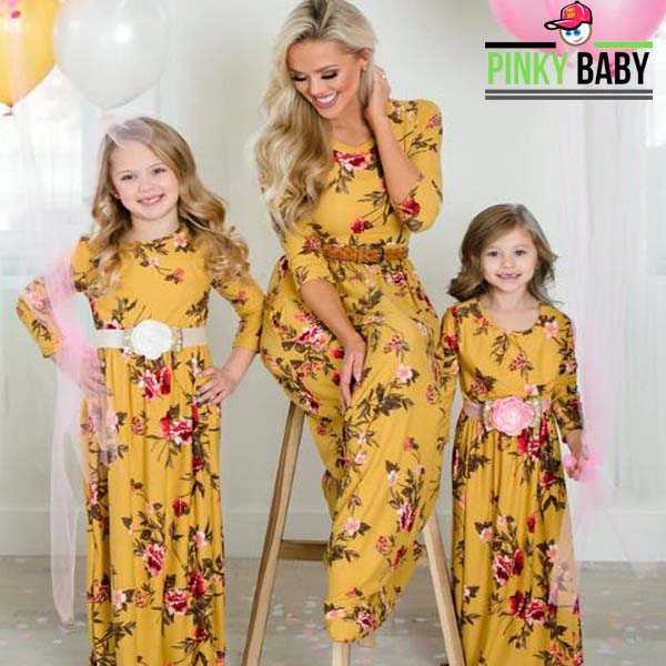 Floral Mommy and Me Clothes