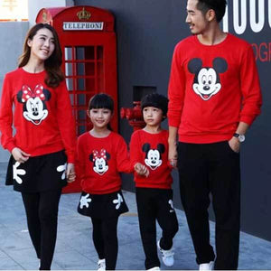 Mickey Mouse Matching Family Outfit