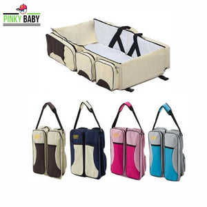 Portable Baby Diaper Bag Cum Bed