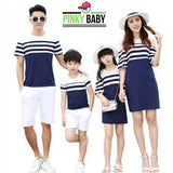Striped Family Matching Outfits
