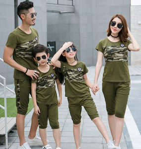 Camouflage Family Matching Dress