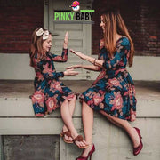 Matching Floral Mini Skirt for Mom & Daughter
