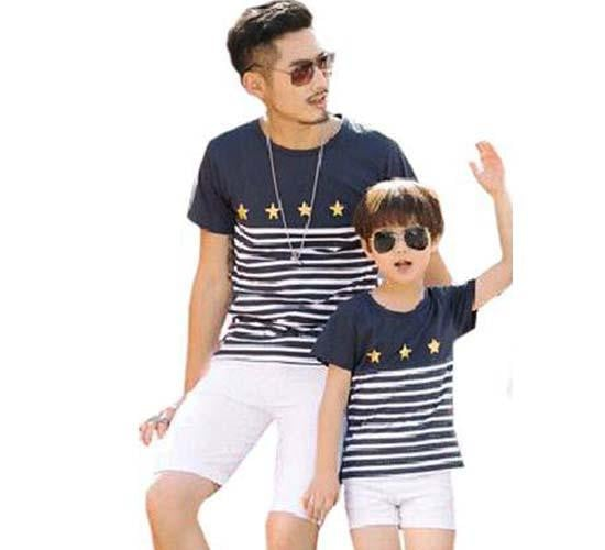 Matching T-Shirt for Dad and Kids - Pinkybaby.in