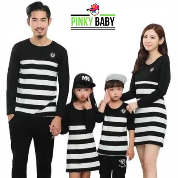 Zebra Stripe Matching Family Outfit