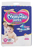 MamyPoko Pants Extra Absorb Diapers Monthly Pack, Medium (Pack of 120) - Pinkybaby.in