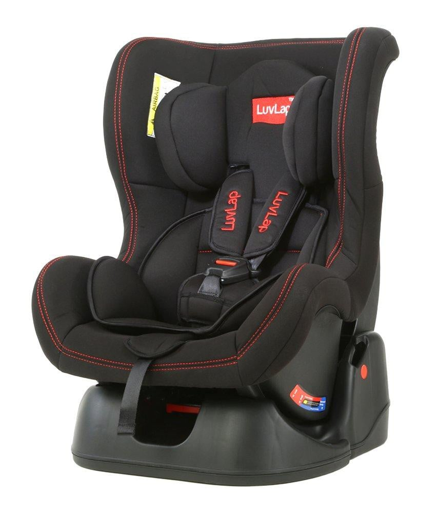 Luvlap Baby Convertible Sports Car Seat (Black) - Pinkybaby.in
