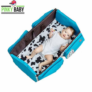 Portable Baby Crib Infant Bed