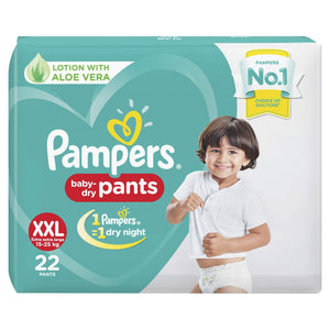 Pampers New Diapers Pants, XXL (22 Count) - Pinkybaby.in