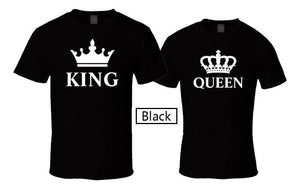Half sleeve family T Shirt - King, Queen, Prince and Princess - White - Pinkybaby.in