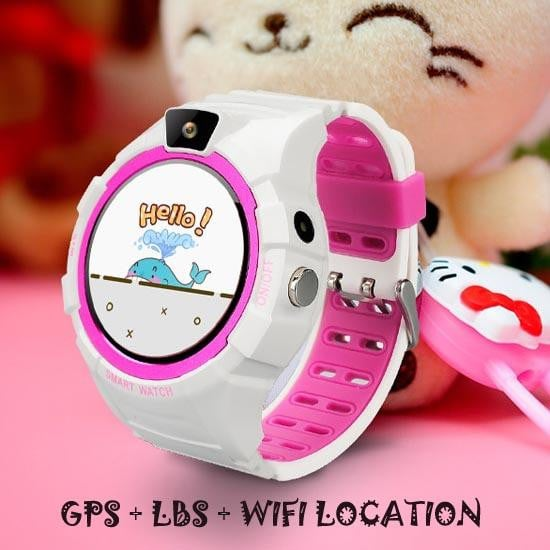 Smart Watch for kids with Inbuilt Camera, GPS, WIFI and IP67 Waterproof - Pinkybaby.in