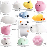 Mini Mochi Squishy Toys