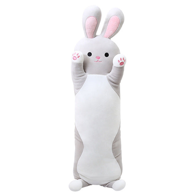 Bunny and Catty Plush Pillows