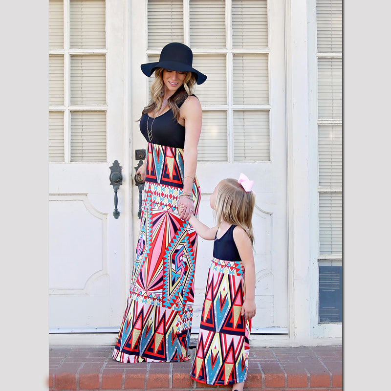 Long Tank Matching Dress for Mom, Daughter