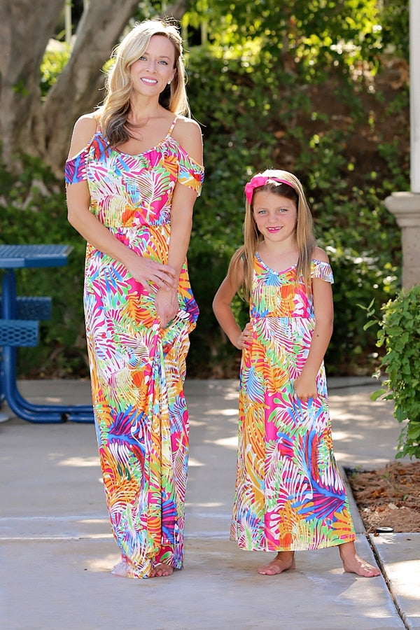 Long Tank Matching Dress