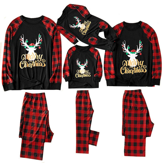 Christmas Family Pajamas - Dark Blue