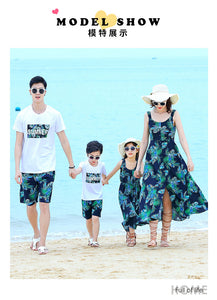 Family Matching Casual Outfit