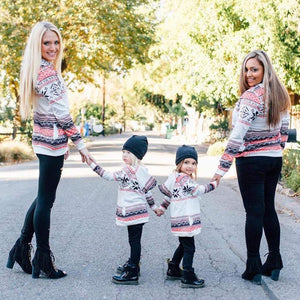 Matching Mom and Kids Sweatshirts