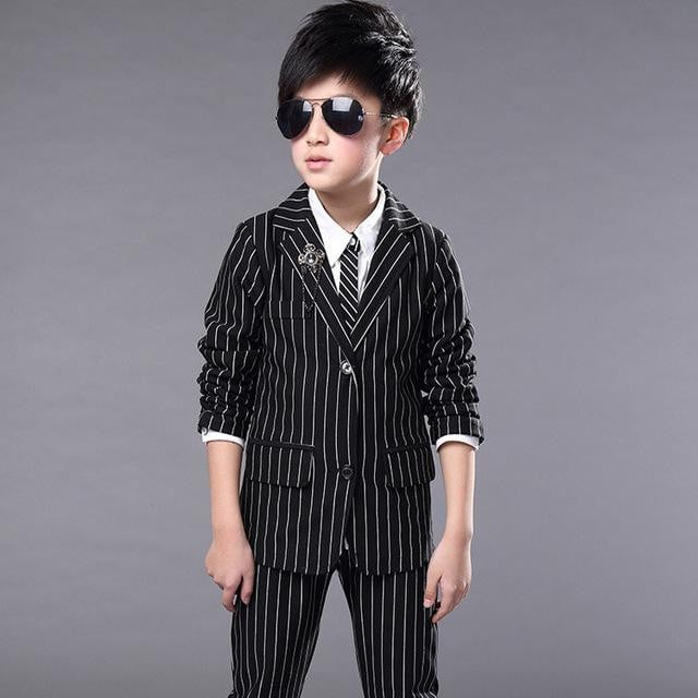 Striped Wedding Dress for Boys - Pinkybaby.in