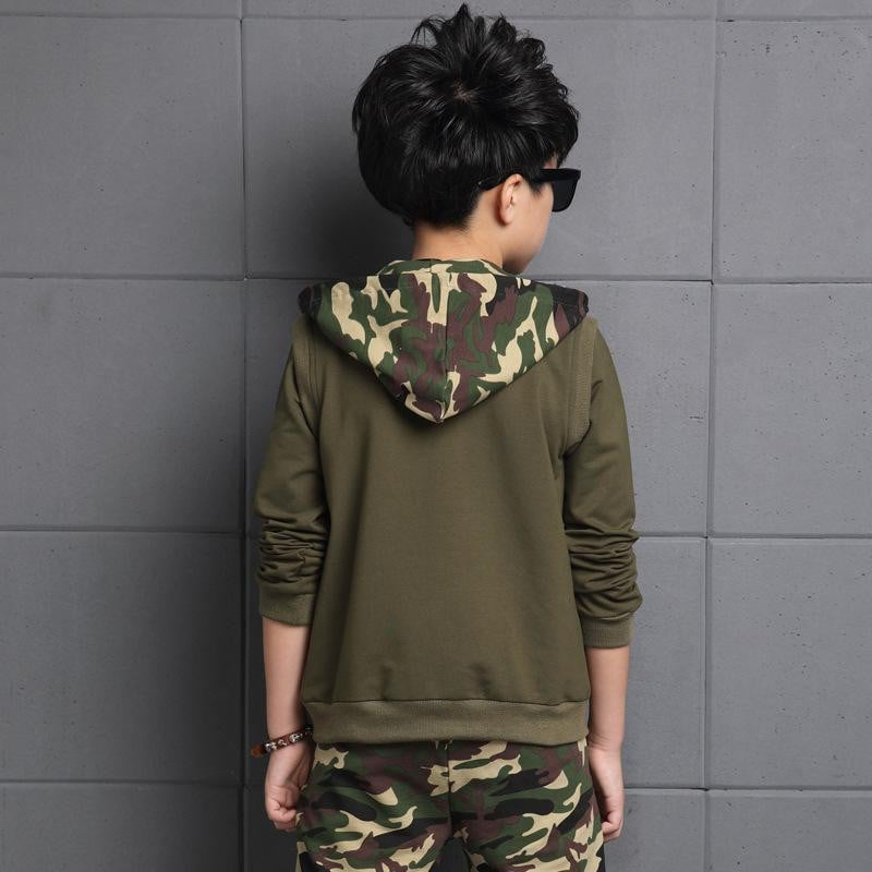 Camouflage Autumn Wear Clothing Set for Boys - Pinkybaby.in