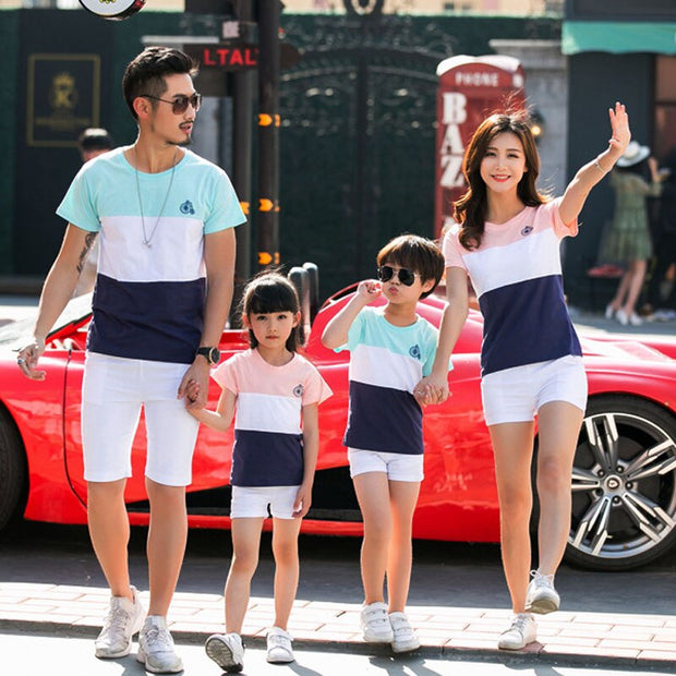 Striped Fashion Family Outfit