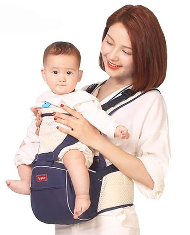 Highly fashionable Baby Carrier with hipseat - Pinkybaby.in