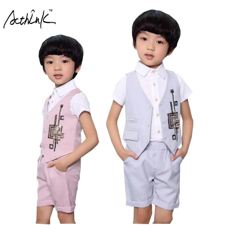 Formal Dress for Boys - Vest + Shorts - Pinkybaby.in