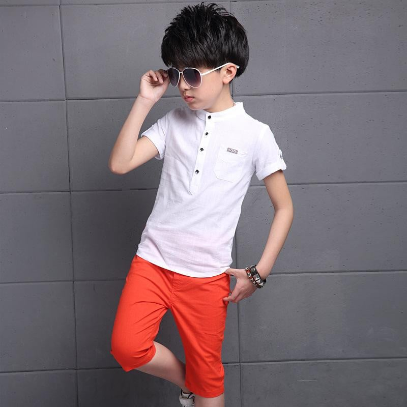 Extra Light Summer Wear T Shirt and Half Pants for Boys - Pinkybaby.in