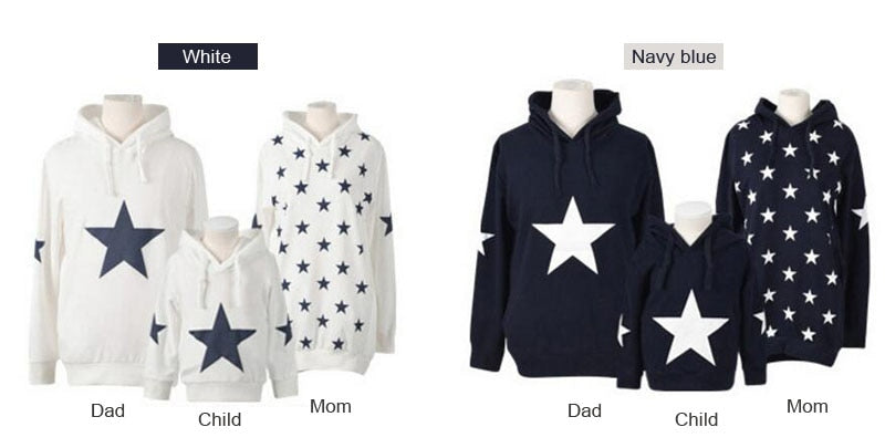 Star Patched Family Outfit