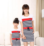 Striped Fashion Outfit sets for Family