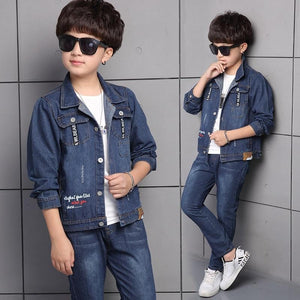 Denim Jacket and Denim Pant Set for Boys - Pinkybaby.in