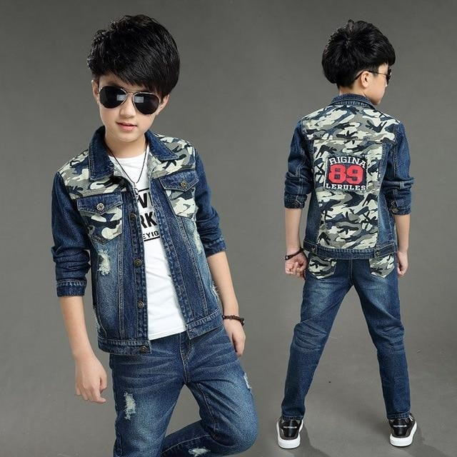 Denim Jacket and Pant for Boys - Pinkybaby.in