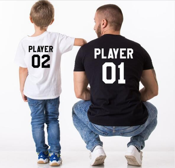 Matching T Shirt for Dad and Son - Pinkybaby.in