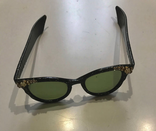 1950's black flex  Sunnies