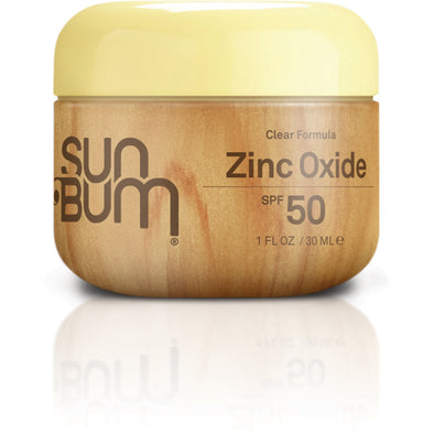 Sun Bum Happy Face SPF 50 Clear Zinc Oxide