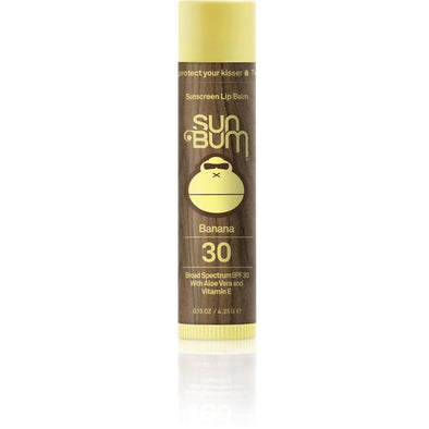 Sun Bum Smackload SPF 30 Banana Lip Balm