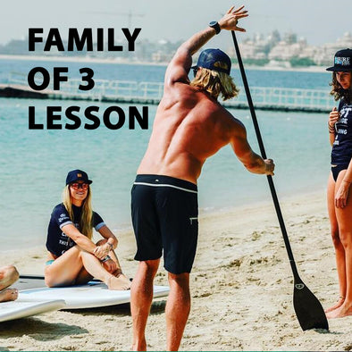 Group of 3 Private SUP Lesson
