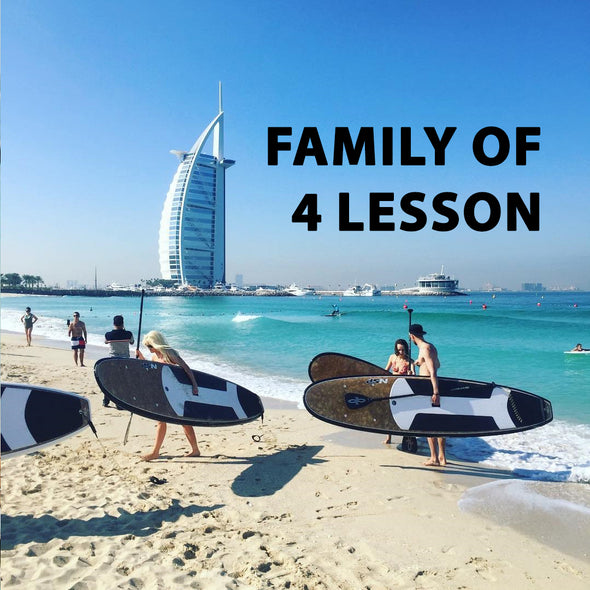 Family of 4 Private SUP Lesson