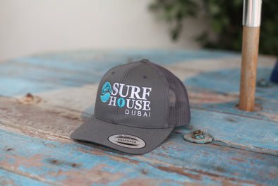 Surf House Dubai Classic Trucker Curved