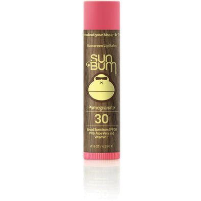 Sun Bum Smackload SPF 30 Pomegranate Lip Balm