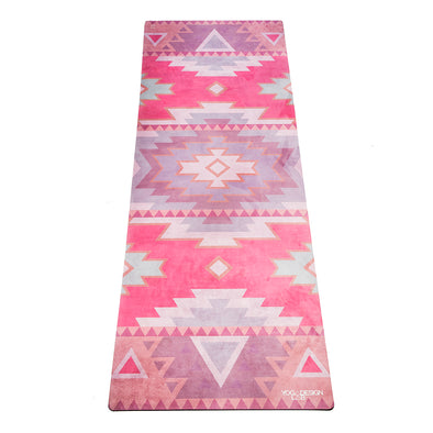 Yoga Design Lab Tribal Coral Mat