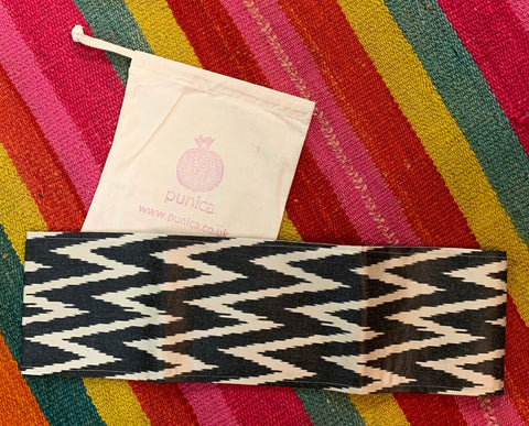 Silk Ikat Cummerbunds - the perfect present